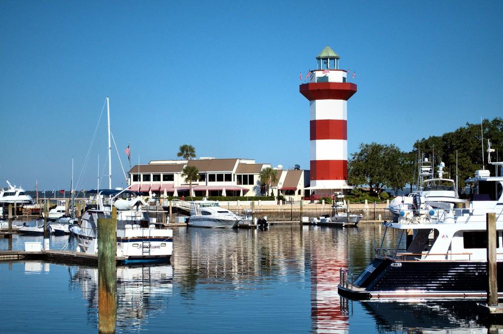 l'île de Hilton Head aux États-Unis