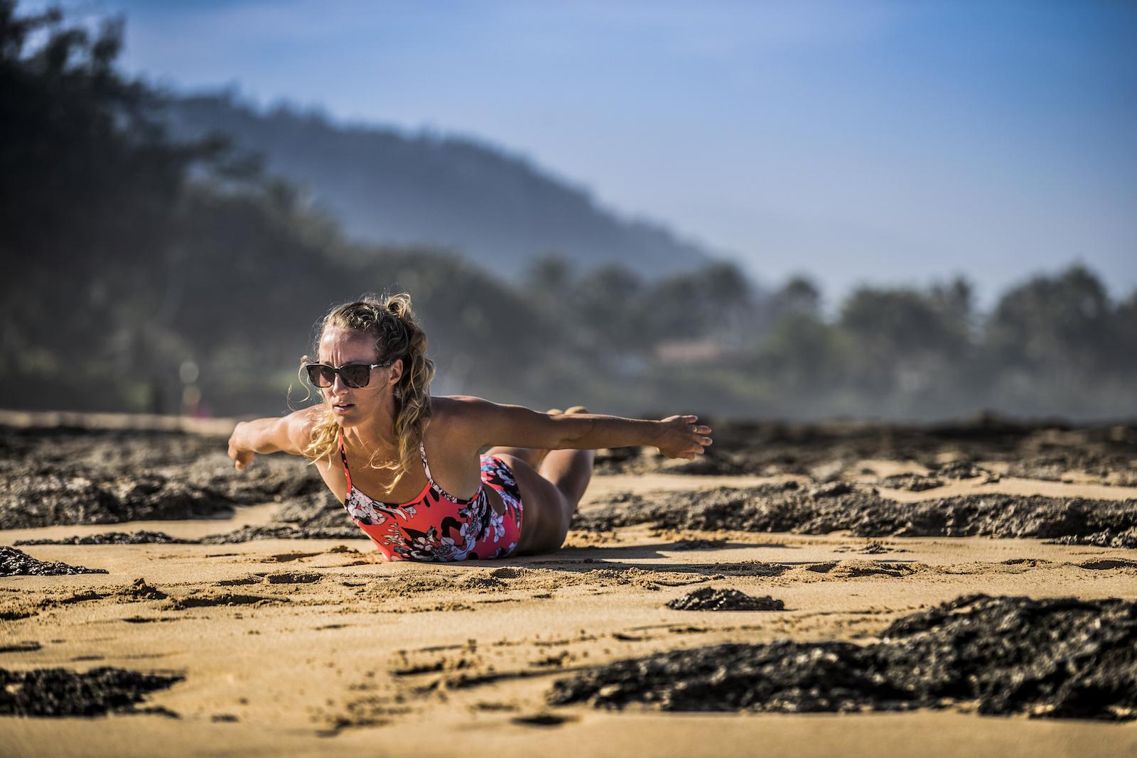 surf sur terre